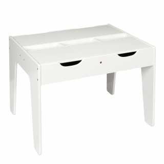 Table duo avec rangements compatible brique Home Deco Kids