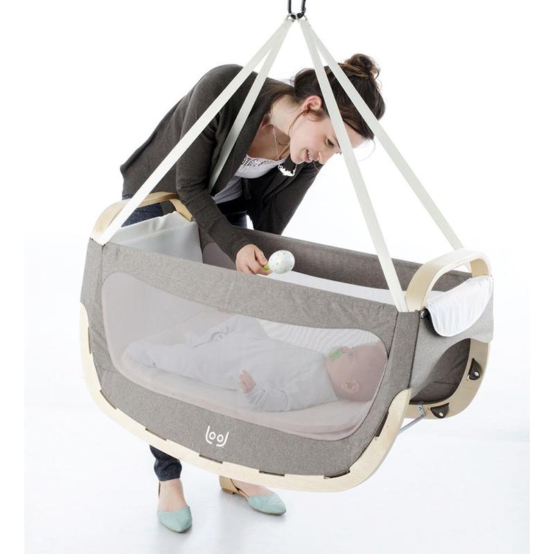 Berceau pour bébé 0-6 mois 3 en 1 Amazonas Lool