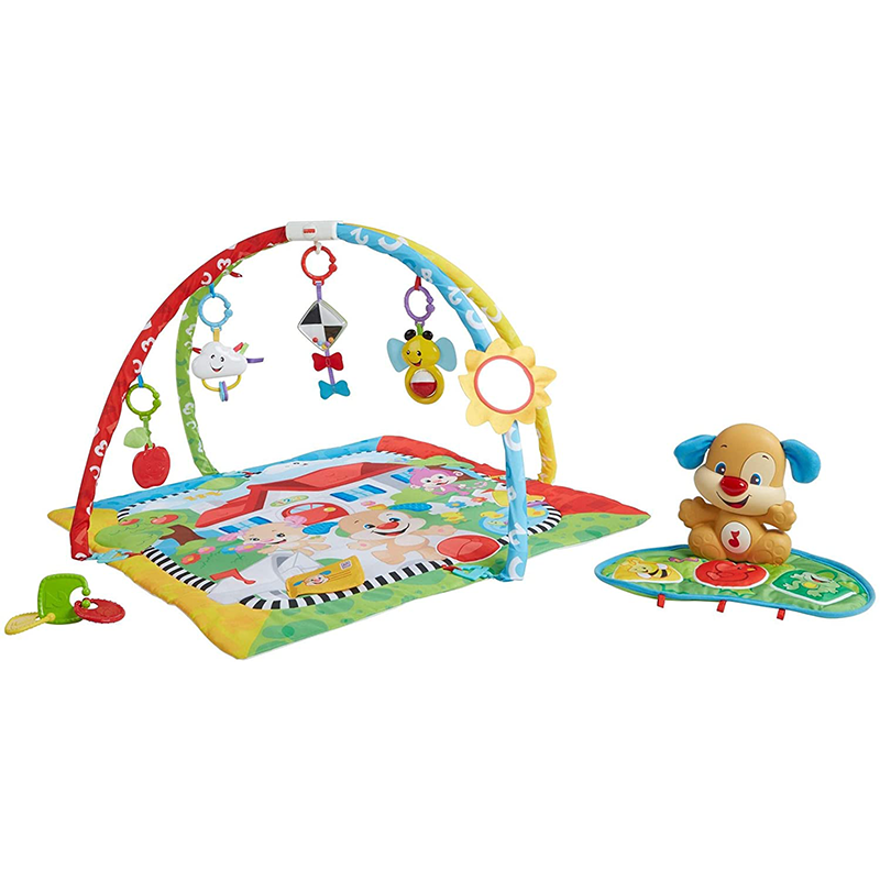 Tapis d'Apprentissage Peluche Fisher Price 3m+