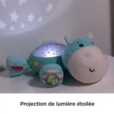 Veilleuse Hippo Douce Nuit - Fisher Price Bleu