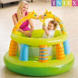 Parc de Jeux gonflable - Aire de jeux exterieur bébé - Intex