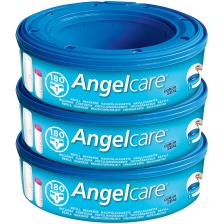 Angelcare Pack de 3 Recharges pour Poubelle à Couches