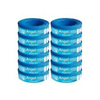 Angelcare Pack de 12 Recharges pour Poubelle à Couches