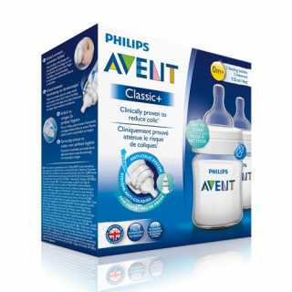Philips Avent Lot de 2 Biberons Classic 125ml