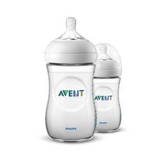 Lot de 2 Biberons Natural 260ml Philips Avent