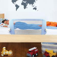 Barrière de lit enfant Bleue Easy fit Lindam