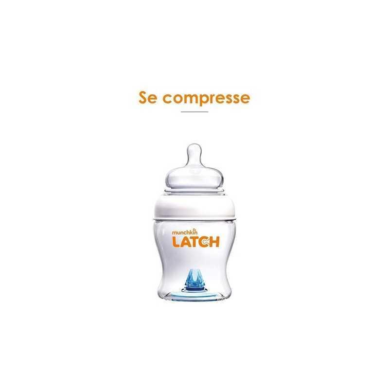 Munchkin Latch Lot de 3 Biberons 240ml