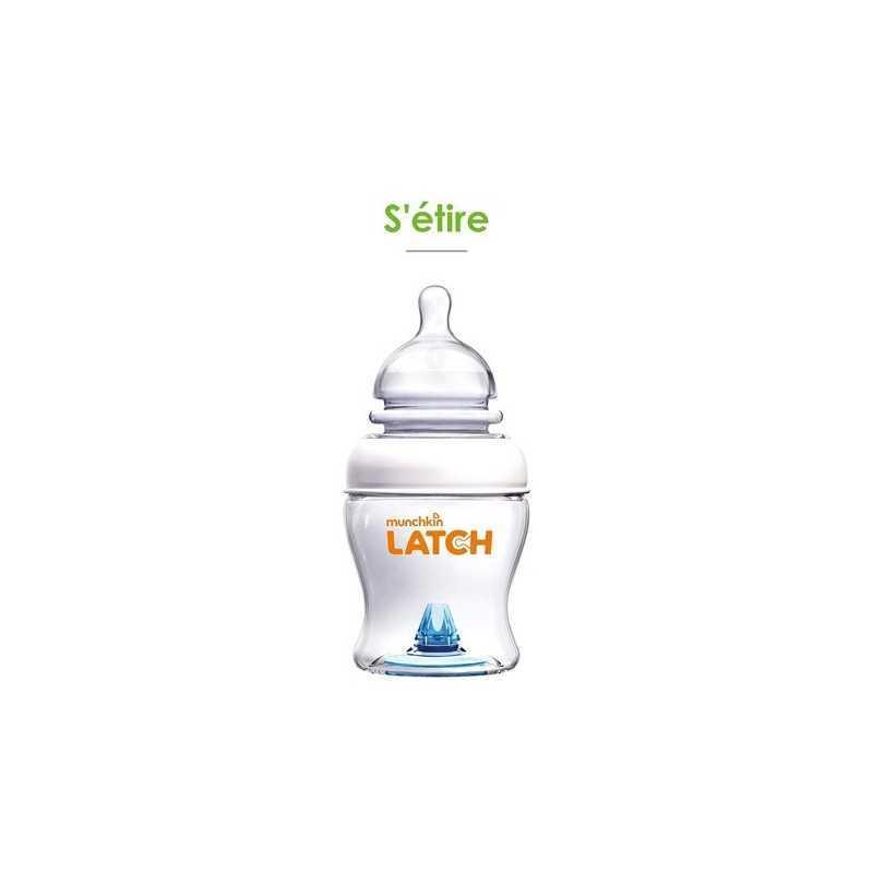 Munchkin Latch Lot de 2 Biberons 120ml