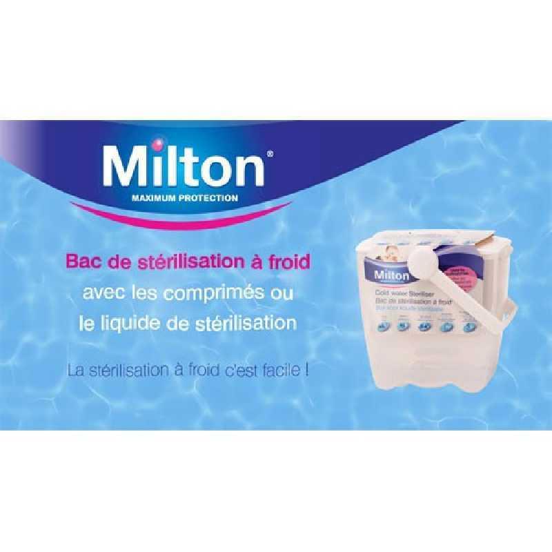 Milton Bac de Stérilisation à froid