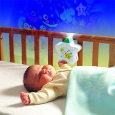 Tomy Veilleuse bébé étoile enchantée blanche