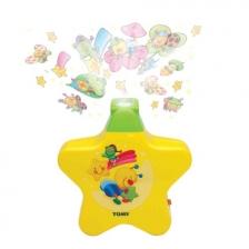 Tomy Veilleuse bébé étoile enchantée jaune