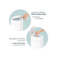 Angelcare Pack de 6 Recharges pour Poubelle à Couches