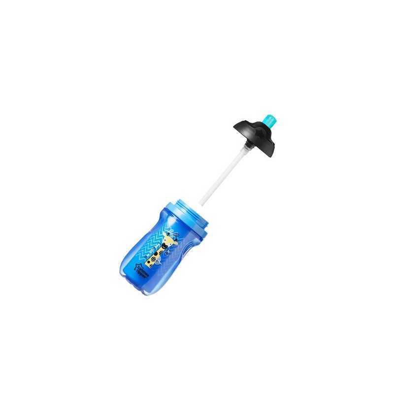 Tasse à Paille Isotherme Tommee Tippee 260ml - Bleu Foncé