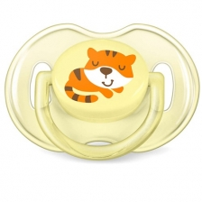 Sucettes Classic Tigre / Flamant Lot 2 Philips Avent 0-6 m