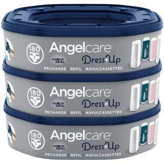 Recharges poubelle Dress Up Ocotogonales Angelcare Lot de 3