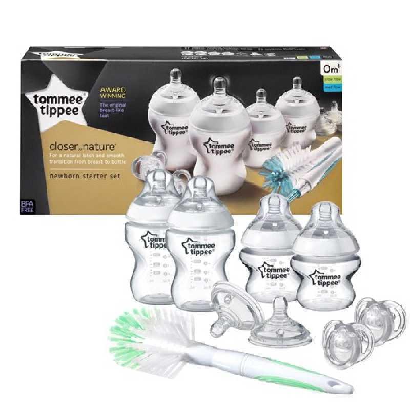 Starter Kit de naissance Tommee Tippee Transparent