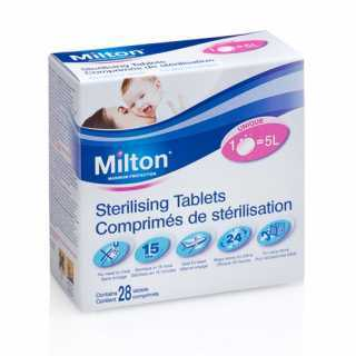 Milton Comprimés De Stérilisation à froid - Paquet De 28