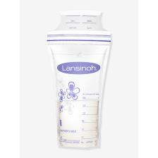Lot de 100 sachets de conservation de lait maternel Lansinoh