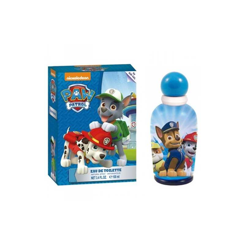 Nickelodeon Paw Patrol Eau de Toilette Pour Enfant 100ml