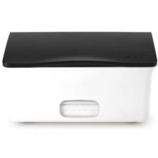 Boîte à lingettes bébé Ubbi blanc et noir