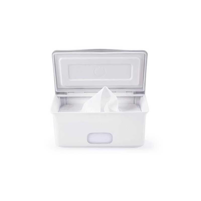 Boîte à lingettes bébé Ubbi gris