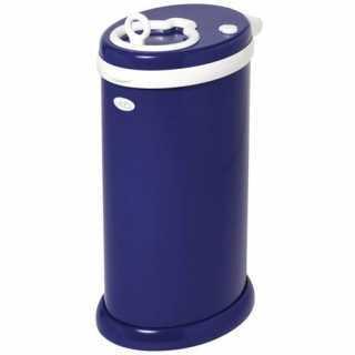 Poubelle à couches Ubbi en acier - Bleu marine