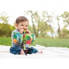 Livre d'évéil pour bébé à toucher Infantino en tissu