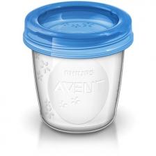 Pots de conservation pour lait maternel Philips Avent