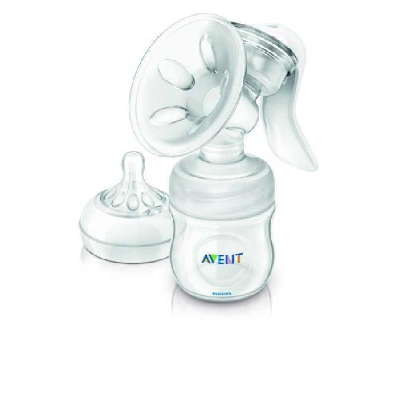 Tire-lait manuel Natural avec biberon Philips Avent 125 ml