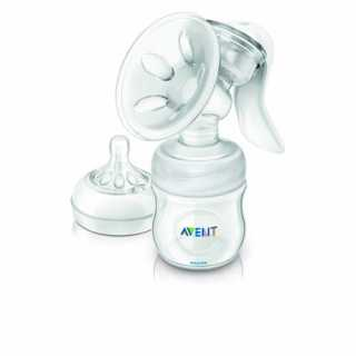 Tire-lait manuel Natural avec biberon Philips Avent 125 ml
