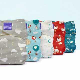Couche lavable Miosolo tout-en-un - Beaux rêves - Bambino Mio