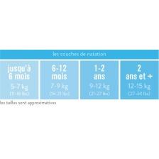 Culotte de Natation - Maillot de bain - Syrène - Large (1-2 ans) - Bambino Mio