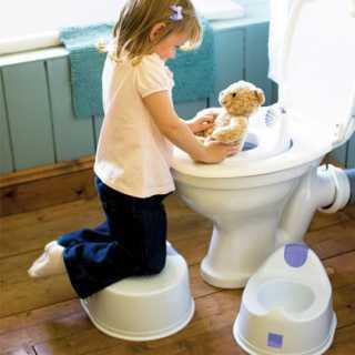 Réducteur de Toilettes Blanc Mioseat 12m+ Bambino Mio