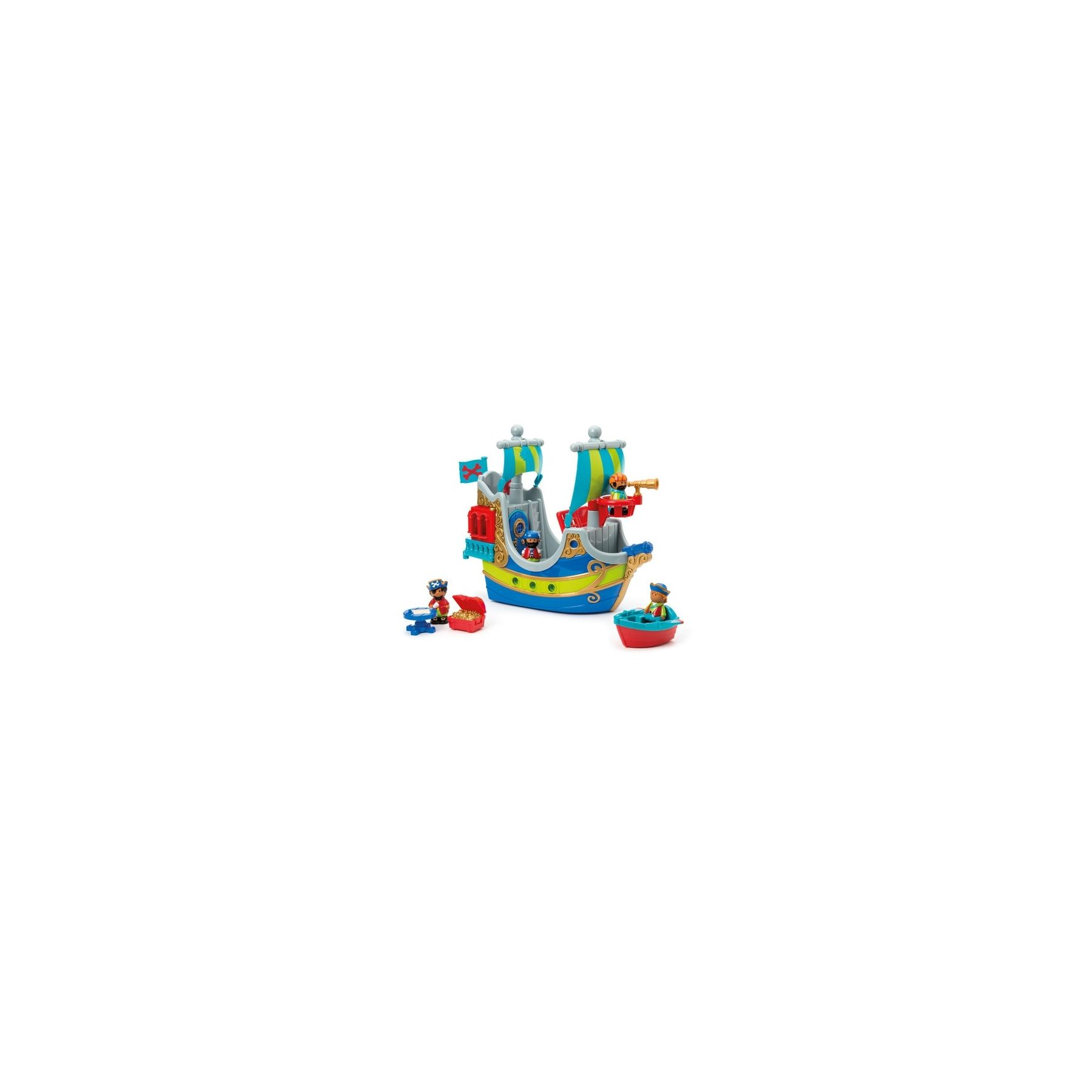 Jouet Bateau pirate enfant Happyland Early Learning Centre