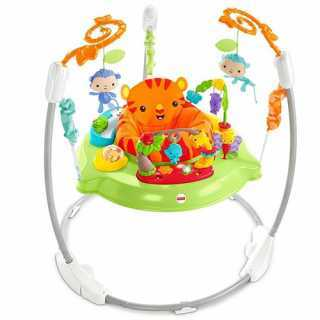 Siège Sauteur Animaux de la Jungle Fisher-Price 12m+