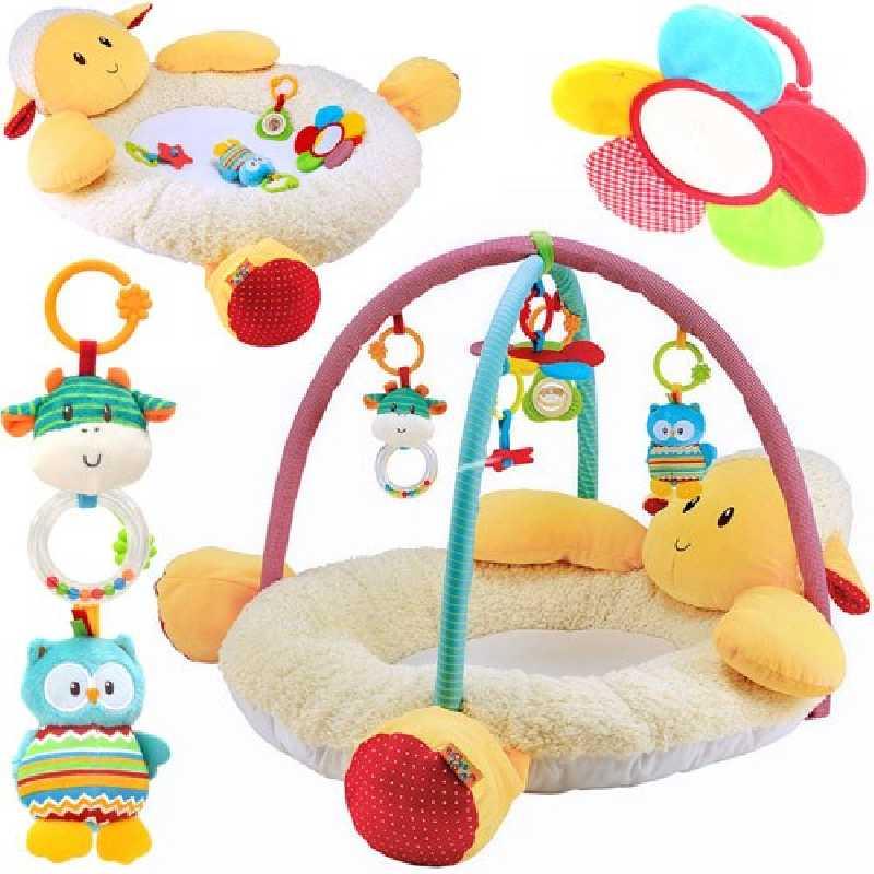 Tapis d'éveil bébé - Tapis de jeux bébé L'agneau Laurie