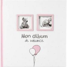 Mon album de naissance Fille Atmosphera Rose