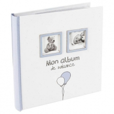 Mon album de naissance Garçon Atmosphera Bleu