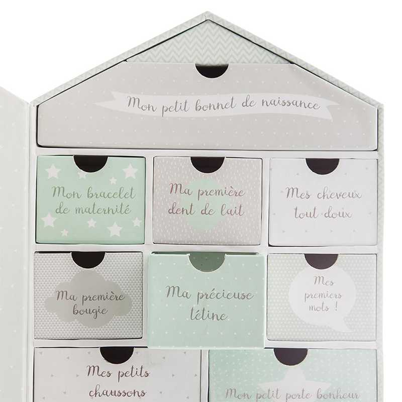 Maison coffret naissance Atmosphera for kids Vert