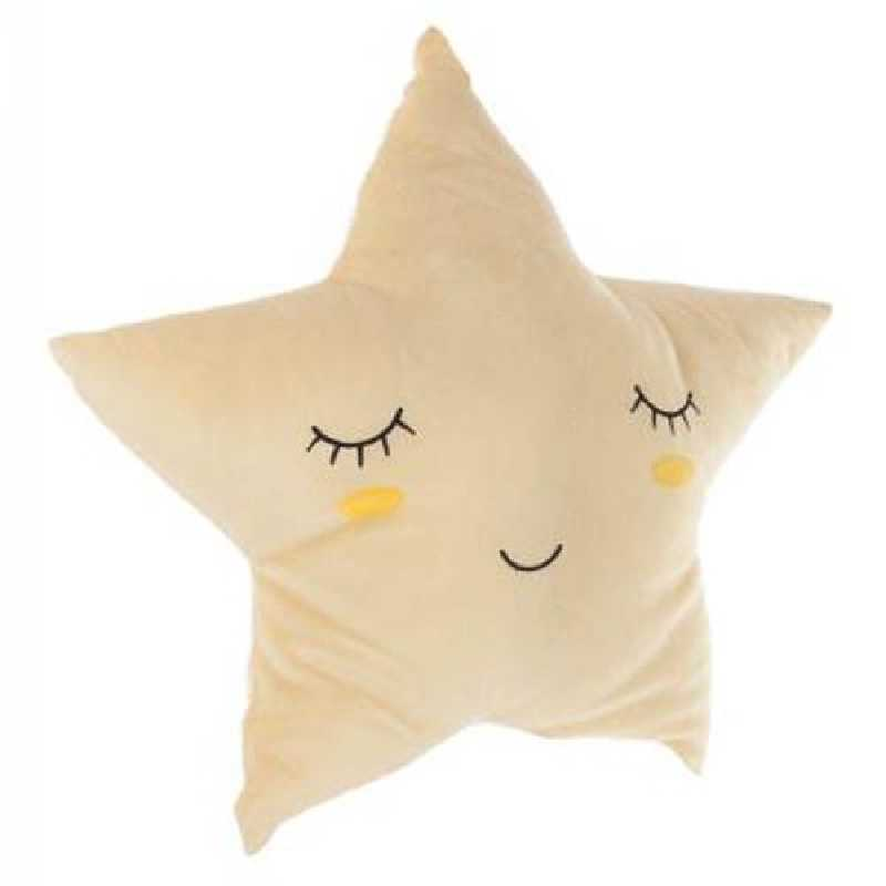 Coussin décoratif étoile Atmosphera for kids Jaune