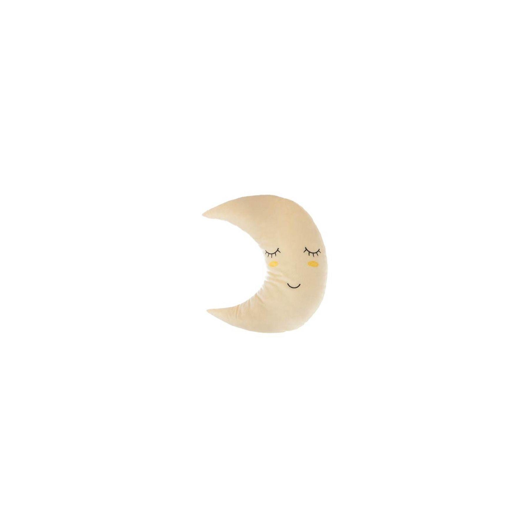 Coussin décoratif lune Atmosphera for kids Jaune