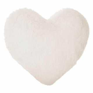 Coussin décoratif coeur Atmosphera for kids Blanc