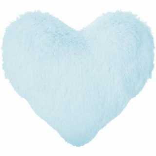 Coussin décoratif coeur Atmosphera for kids Bleu
