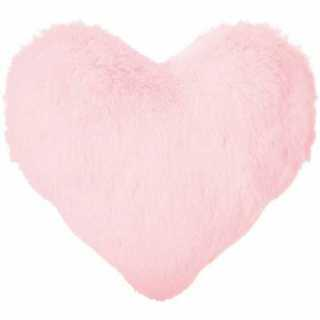 Coussin décoratif coeur Atmosphera for kids Rose