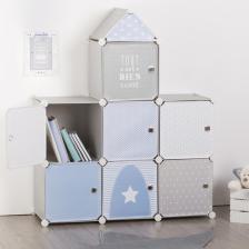 Meuble de rangement Château Atmosphera for kids Bleu