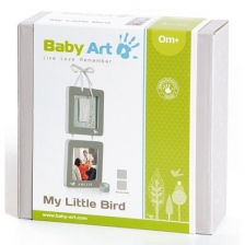 Cadres Empreintes A Suspendre - My little bird Baby Art