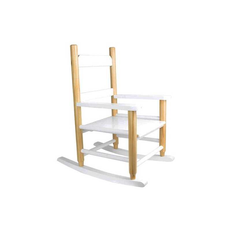 Fauteuil chaise à bascule pour enfant en bois The Concept Factory