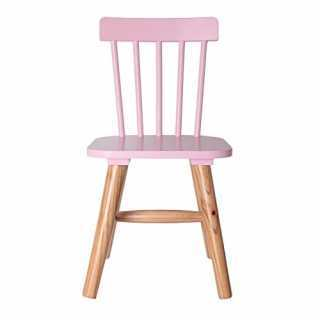 Chaise enfant en bois Rose The Concept Factory
