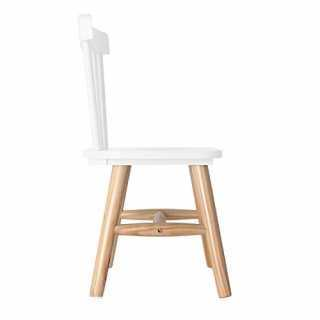 Chaise enfant en bois Blanc The Concept Factory