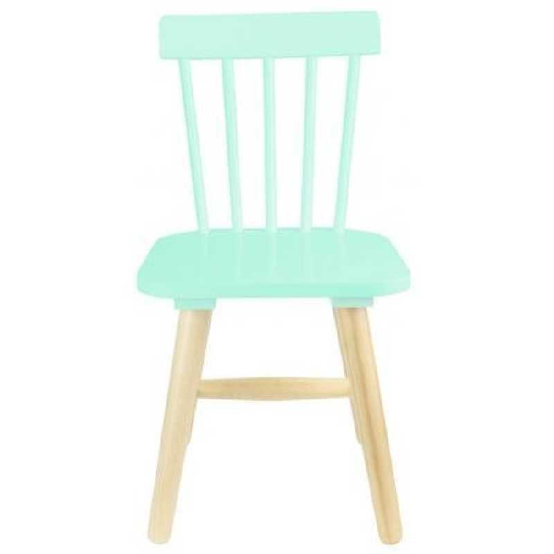 Chaise enfant en bois Verte The Concept Factory